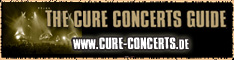 THE CURE CONCERT GUIDE